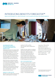 Benefits Forecaster Brochure
