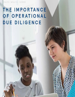 Operational Due Diligence