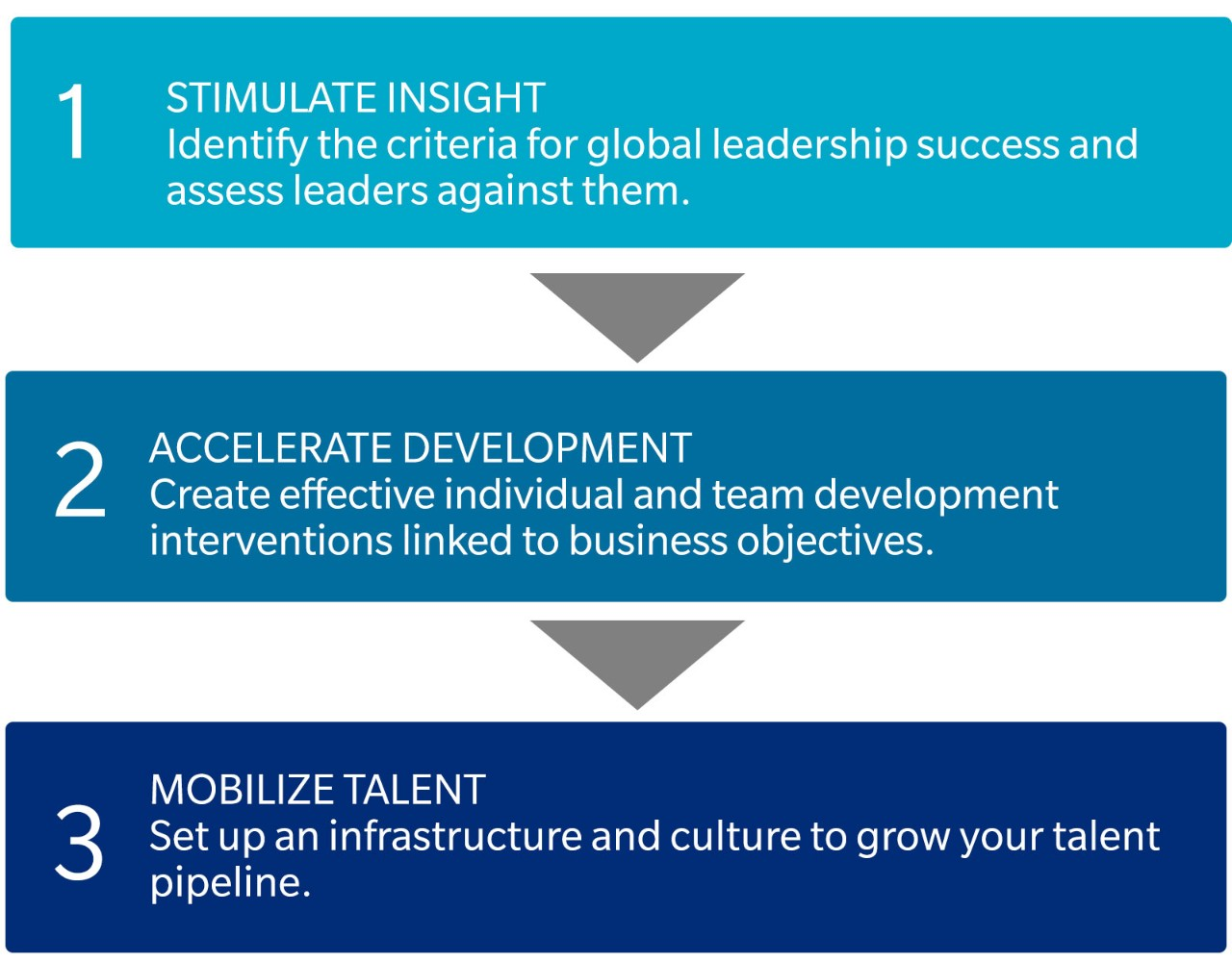 3 steps for successful global leadership